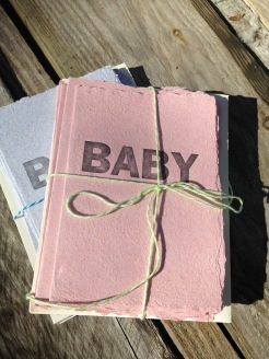 Perfect for baby announcements, baby shower invitations, or gift card.