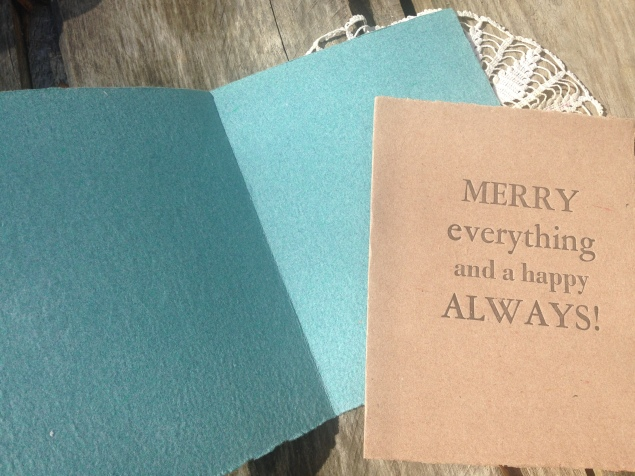 A multi-purpose holiday greeting.